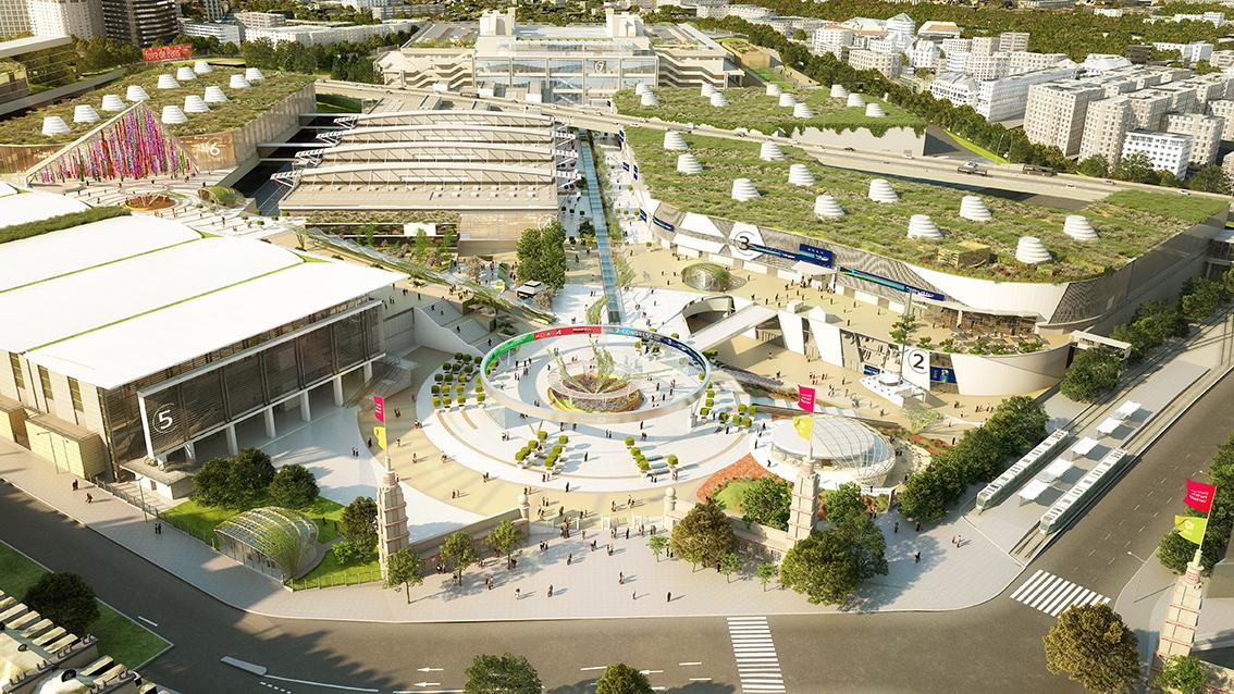 Paris expo porte de versailles agiloe ensemble - Parc exposition porte de versailles ...