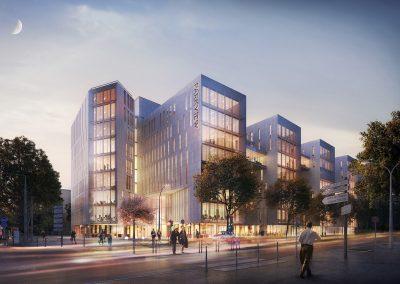 Immeubles de bureaux Parkview à Lyon